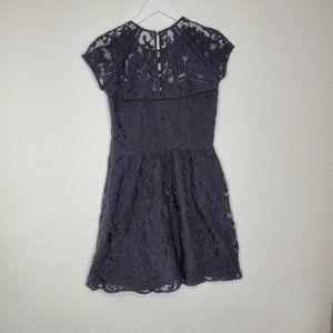 Dolce Vita Dresses - Dolce Vita Black Lace Fit and Flare Dress